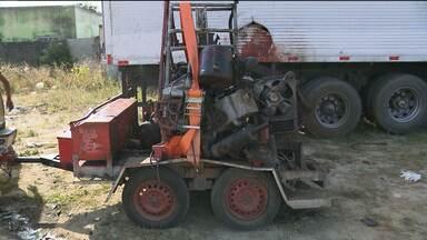 Explosão de cilindro de ar provoca morte de funcionário de Fábrica em Campina Grande - O acidente foi durante a troca de pneus de um caminhão.