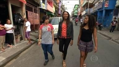 Jovens do Morro do Vidigal (RJ) trocam de lugar com moradores de Paraisópolis (SP) - Por uma semana, três jovens da favela carioca passam pela experiência de morar e trocar de lugar com três jovens da favela paulista.
