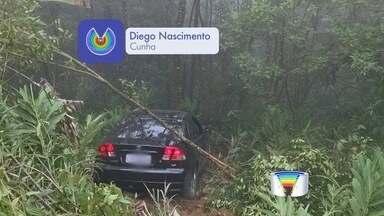 Oito pessoas ficam feridas em acidentes em Cunha - Vítimas foram levadas para o Hospital Frei Galvão em Guaratinguetá.