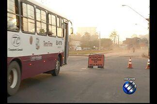Obras de duplicação na avenida Perimetral interditam trânsito em Belém - A interrupção irá se estender até o próximo dia 10 de novembro.