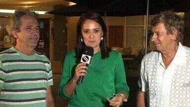 Lula Ribeiro e Flávio Venturini fazem show em Aracaju - Lula Ribeiro e Flávio Venturini fazem show em Aracaju.