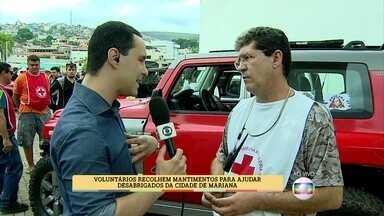 Empresário lembra desastre na região serrana do Rio - Voluntário relata momentos emocionantes em tragédias