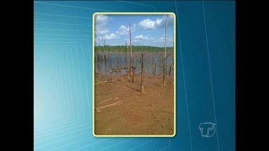 Seca do rio já preocupa população em Santarém - Imagens enviadas por telespectadores mostram situação de vários pontos da cidade.