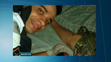 Policiais militares realizam parto de bebê prematuro em Fortaleza - O recém-nascido estava com o cordão umbilical enrolado no pescoço.