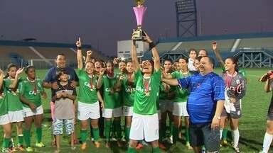 Iranduba conquista pela quinta vez o Campeonato Amazonense de Futebol Feminino - Equipe venceu o Sul América no sábado (09).
