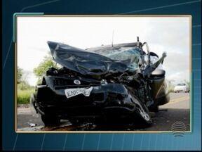 Morador de Irapuru morre em acidente no Mato Grosso do Sul - Rapaz de 26 anos conduzia uma picape que invadiu a pista contrária.