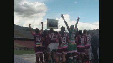 Meninas da Ferroviária conquistam título inédito na Libertadores - Na grande decisão a ferroviária encarou as chilenas do colo-colo e ficaram com o título. A campanha das meninas na libertadores ocorreu com cinco jogos, quatro vitórias, um empate e treze gols.
