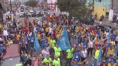 Em meio a crise em São Vicente, funcionários da Codesavi entraram em greve - Serviços de manutenção da cidade estão parados a partir desta terça-feira.