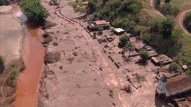 Buscas pelos desaparecidos em Bento Rodrigues são suspensas por causa de tremores - Acesso ao distrito está restrito. Segundo os bombeiros, houve um indício de abalos na região.