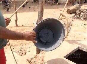 Mesmo com cisternas, moradores de assentamento em Silvanópolis reclamam da falta de água - Mesmo com cisternas, moradores de assentamento em Silvanópolis reclamam da falta de água