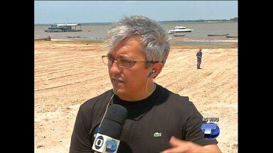 Semma fala sobre tráfego e proibição de veículos em praias de Santarém - No fim de semana, fiscalização fez 10 autuações em praias da região.