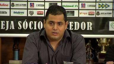 Cloves Santos confirma, e Leston Junior não permanece no Tupi-MG - Vice-presidente do Conselho Gestor aponta fator tempo e divergência de projetos como motivos para saída.