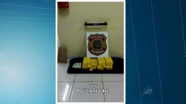 Homem é preso com 15 quilos cocaína durante blitz no Ceará - Droga estava em um fundo falso de uma mala.