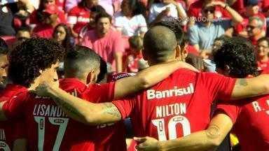 Na briga pelo G-4, qualquer vitória vale para o Inter - Técnico Argel aposta em Vitinho, artilheiro do time, para melhorar o saldo de gols.