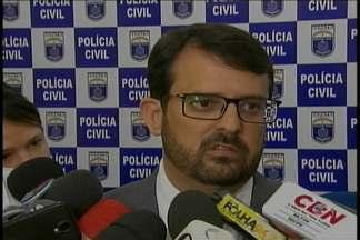 Polícia prendeu cindo homens suspeitos de roubar bancos no interior de Pernambuco - Dois são de São Paulo e os outros de Santa Catarina