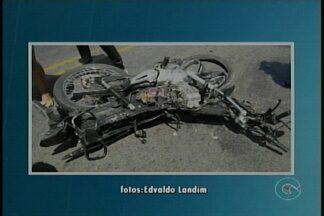 Duas pessoas morreram em um acidente de trânsito hoje à tarde em Petrolina - O acidente foi na PE 647, perto da ponte do riacho Vitória