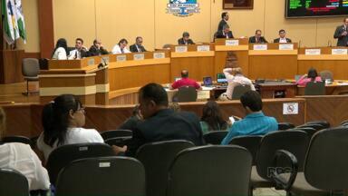 Vereadores barram pedido de informações sobre o líder do governo na Câmara - A oposição pediu informações sobre o andamento das investigações que estão sendo feitas pela Polícia Federal.