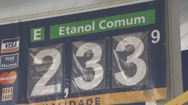 Em quase três meses, preço do etanol aumenta 30% na região de Campinas, SP - O preço do álcool combustível aumentou nesta semana na região de Campinas (SP).