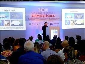 Congresso de criminalística é encerrado após cinco dias de exposições em Búzios, no RJ - Convenção recebeu profissionais de diversos países.