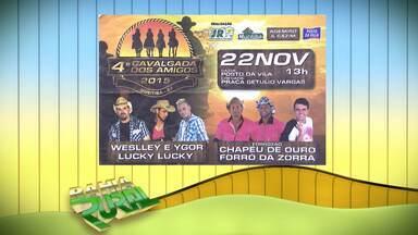 Muritiba recebe quarta edição da Cavalgada dos Amigos - Confira a agenda de eventos para o homem do campo.