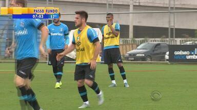 Esporte: volante Ramiro deve voltar a jogar em partida de Grêmio e Fluminense - O zagueiro Erazo não participa do jogo, já que estava em campo pela seleção do Equador.