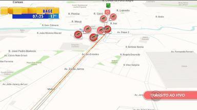 Trânsito: confira a movimentação no amanhecer de quarta-feira (18) no RS - Assista ao vídeo.