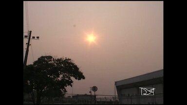Fumaça de queimadas fecha aeroporto de Imperatriz, MA - Um fator que preocupa em Imperatriz (MA) é a fumaça de queimadas. Na sexta-feira (20), por exemplo, o aeroporto fechou por causa da fumaça.