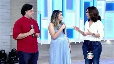 Fátima fala de medo que atinge muitos brasileiros: a cinofobia - Lair Rennó acompanhou de perto a vida da convidada Maria Eduarda que tem pânico de cães