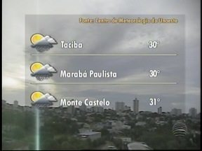 Mês de dezembro deve ser chuvoso no Oeste Paulista - Meteorologia prevê 250 milímetros de chuva para o período.
