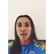 Marta convoca torcida alagoana para jogo solidário em Arapiraca - Alagoana participará de confraternização junto com grandes craques