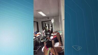 Sindicato denuncia superlotação no Hospital São Lucas, em Vitória, ES - Governo admite que a superlotação está acontecendo por causa de uma reforma.