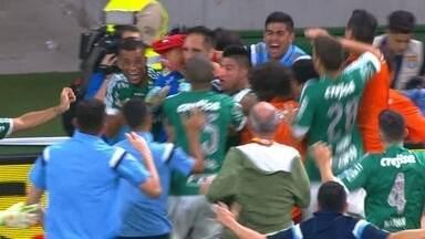 Os gols de Palmeiras 2 (4) x (3) 1 Santos pela final da Copa do Brasil - Alviverde conquista título nos pênaltis.