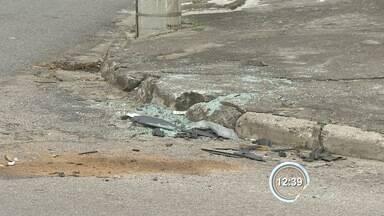 Moradores do Jardim Vale do Sol reclamam de motoristas imprudentes - Dois acidentes deixaram feridos no bairro.