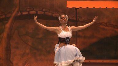 Teatro Gustavo Leite apresenta espetáculo de ballet neste fim de semana - Mais de 100 bailarinos vão contar a história de uma camponesa que vive um amor proibido.
