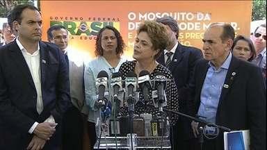 Política: Semana será movimentava em Brasília - A Segunda-feira (7), será agitada em Brasília. Termina o prazo para os partidos indicarem os integrantes da comissão da câmara que vai elaborar o parecer a favor ou contra do pedido de impeachment da presidente Dilma.