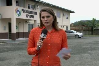 Polícia registra sete mortes em três horas em Joinville - Casos aconteceram na Zona Sul.