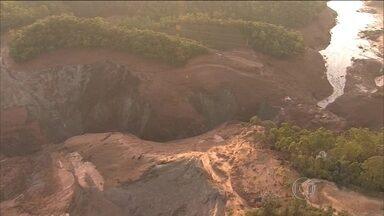 Procuradores investigam se a Vale continua a jogar rejeitos em barragem - MPF está investigado a situação das barragens usadas pela Vale na região do desastre de Mariana. Vale e a BHP são donas da Samarco.