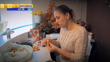 Meu Negócio, Meu Emprego: mulher é exemplo de seguir sonhos e garantir renda - Assista ao vídeo.