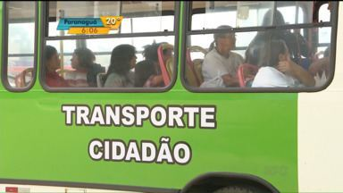 Moradores de Tijucas do Sul utilizam o transporte público gratuitamente - Prefeitura de Tijucas do Sul oferece o transporte coletivo de graça.
