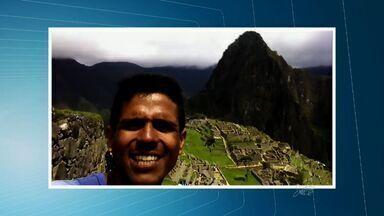 Cearense que decidiu sair do Brasil de bicicleta chega ao Peru e manda recado ao CETV - Viagem durou mais de dois meses.