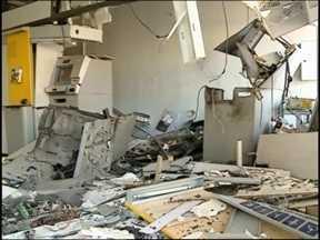 Quadrilha explode duas agências bancárias em Ibiraiaras, RS - Ataques aconteceram durante a madrugada e ninguém foi preso