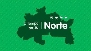 Veja a previsão do tempo para quarta-feira (9) no Norte - Veja a previsão do tempo para quarta-feira (9) no Norte
