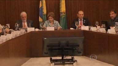 Carta de Michel Temer tem impacto em Brasília - O vice-presidente atribui o vazamento da carta à Presidência da República. Temer não disse especificamente quem, mas, por meio da assessoria, deixou claro a insatisfação dele com o vazamento do conteúdo.