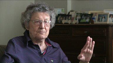 Londrina 81 anos: pioneira conta o que viveu na cidade - Helena Marchesini Gouveia viu a cidade crescer e vai dividir algumas emoções com a gente.