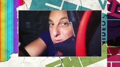 News: Luciano Huck grava dentro de um porta-malas - Confira essa e outras notícias dos famosos nas redes sociais
