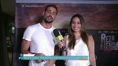 Cauã Reymond, Sophie Charlotte e Luisa Arraes estrelam 'Reza a Lenda' - Filme estreia em janeiro de 2016 nas telonas brasileiras