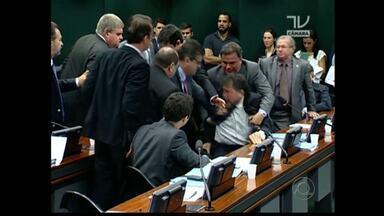 Deputado Wellington Roberto troca tapas durante reunião em Brasília - Laerte Cerqueira fala sobre confusão envolvendo o deputado paraibano do PR na Câmara dos Deputados.