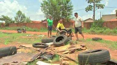 Matéria mostra locais corretos para descarte de entulhos e pneus - Matéria mostra locais corretos para descarte de entulhos e pneus