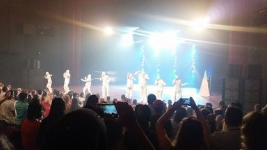 """Voca People está em turnê nacional - O show """"Vida é música e música é vida"""" encantou o público sergipano em uma única apresentação"""