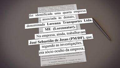 PM é preso suspeito de fazer parte de organização criminosa no DF - Ele participava de grupo que fraudava licitações no Entorno.